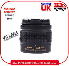 Nikon AF-P DX NIKKOR 18-55mm f/3.5-5.6G VR Lenses (White Box)-UK STOCK