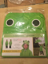 CloudNine Umbrellas Froggy Children's Raincoat Frog One Size Fits All 5-12 years