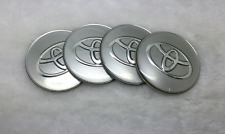 New 4pcs Set of Toyota 65mm Emblem Logo Badge Sticker for Wheel Cover Hub Cap