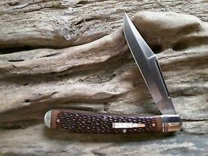 Remington UMC USA 1992 Brown Delrin R1253 (1992) Lockback Knife