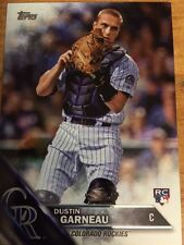 2016 Topps Dustin Garneau Rainbow Foil Parallel RC Colorado Rockies