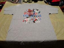 MLB Boston Red Sox 2007 World Series Champions T-Shirt MENS sz.LARGE 4-PLAYERS