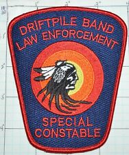 CANADA, DRIFTPILE FIRST NATION SPECIAL CONSTABLE TRIBAL POLICE ALBERTA PATCH