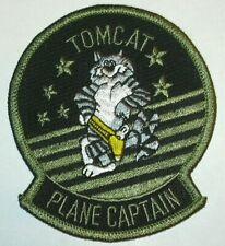 TOMCAT F-14 PLANE CAPTAIN PATCH