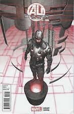 AGE OF ULTRON 1 RARE VARIANT 1:25 HITCH ULTRON VARIANT 2013 SPIDERMAN