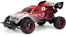 New Bright 2.4GHz 1:6 Scale Full-Function 9.6V Venom RC Remote Control Car, Red