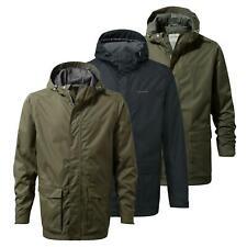 Craghoppers Mens Classic Kiwi Waterproof Jacket Hooded Coat