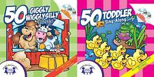 NEW 100 Songs: Giggly Wiggly Silly & Toddler Sing-Along - Audio CD 4 Discs Music