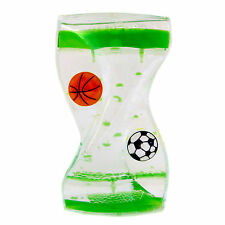 Dual Color Liquid Motion Zig Zag Timer Calming Bubbler Spinning (Sports Timer)
