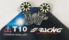 COPPIA 2 LAMPADE SIMONI RACING T10 CANBUS W5W T10 Canbus Warning Led HLM/27W