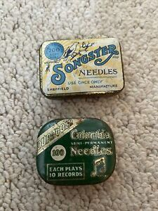 Vintage Columbia Duragold And Songster Needles