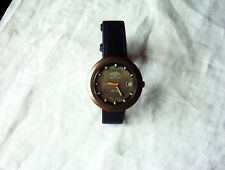 A ROTARY AUTOMATIC GENTS VINTAGE 70's SWISS MADE 21 JEWELS DATE INDICATOR WATCH