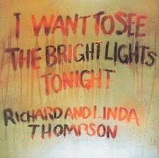 Richard And Linda Thompson - I Want To See (NEW CD)