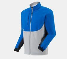NEW FootJoy DryJoys Tour LTS Jacket Blue Gray Medium Waterproof Thermolite logo
