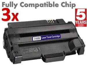 3x Xerox 3155 Toner for Xerox Phaser 3155,3160,3160N