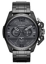 NEW Diesel DZ4362 Ironside Black Chronograph Stainless Steel Men's Watch