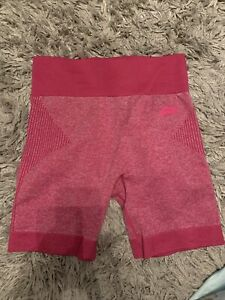 Pursue Fitness Ladies Gym Cycling Shorts Pink Large