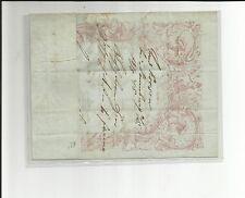Preussen Besonderheiten / 18.8.1845 herrlicher Zierfalt-Brief grünes Papier mit