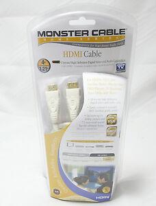 Monster Cable Home Series HDMI 1.3 Cable 4ft  Surround Sound 7.1 HD TV 1080p NIB