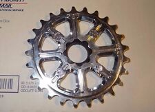 BSD SUPERLITE 3D SPROCKET Silver BMX 25 Tooth