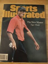 New listing Tiger Woods Sports Illustrated - The New Master, April 21, 1997, Clean, No Label