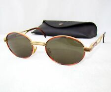 f1872c35a3 POLICE 2225 sunglasses vintage gold gray brown oval rare small italy
