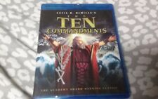 THE TEN COMMANDMENTS (1956)Blu-ray SIGNED by Kathy Garver FREE PRIORITY SHIPPING