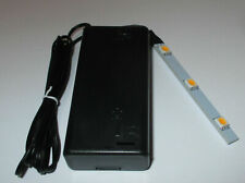 Kahlert 69911 Licht LED-Leiste 3.5 V  weiß mit Batterie-Box   NEU/OVP