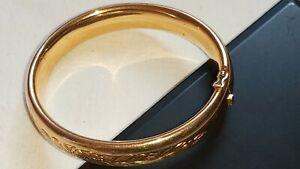 Ancien bijou bracelet en or 18K