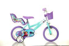 12 Zoll FROZEN Eisprinzessin Kinderfahrrad Kinderrad Fahrrad Rad Bike DINO-Bike