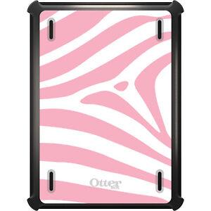 OtterBox Defender for iPad Pro / Air / Mini -  Pink & White Zebra Skin Stripe