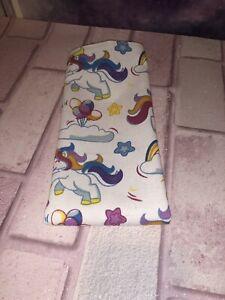 Handmade Cotton Tea Towel. Unicorn