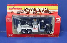 Majorette 3035 1:47 1:48 1:43  Kenworth Police Tow Truck Wrecker MISB 80s France