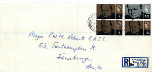 8 JULY 1965 SIR WINSTON CHURCHILL NON PHOS FIRST DAY COVER V RARE CHURCHILL CDS