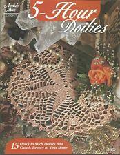 5-Hour Doilies Annie's Attic Crochet 15 Quick to Stitch Doilies