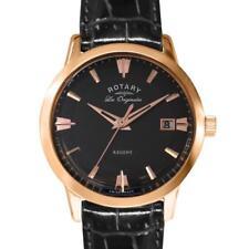 Rotary GS90116/04 Les Originales Swiss Men's Regent Black Dial Watch RRP £249