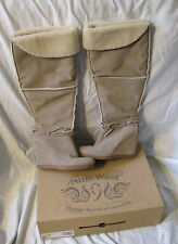 Nine West Wedge Boots In Box Vintage American Collection Mushroom NOPAINR 7.5 M
