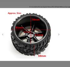 7 Offset #102069FBK MST Flat Black RS2 Wheel Set
