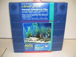 NEW Penn Plax 40 55 Gallon Aquarium Premium Under Tank Filter FREE SHIPPING