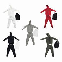 1//6 T-shirt à manches courtes blanc pour 12 /'/' Hot Toys Side Show Body Figure