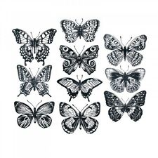 Stamper's Anonymous Flutter Cling Mount Stamps CMS 294 Sizzix 30936
