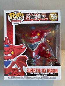 "Funko Pop! Animation: Slifer the Sky Dragon 6"" Yu-Gi-Oh! #756 Brand New"