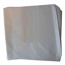 "100x 12"" LP Innenhüllen Schutzhüllen weiß, 90gr, gefüttert, ohne Mittelloch NEU!"