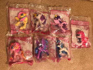 My Little Pony 2014 MacDonalds Happy Meal Toys X 7. New In Bags