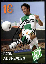 Leon Andreasen Werder Bremen 2006-07 2.Karte Original Signiert + A 82461