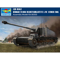 Trumpeter 00350 1/35 German 12.8cm Selbstfahrlafette L/61 Sturer Emil Model Kits