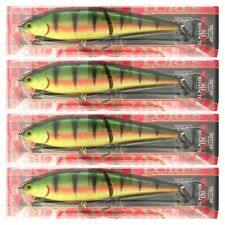 """(4) Lucky Craft JAPAN LL Pointer 170 6 3/4"""" Sinking Swimbaits AGO Northern Perch"""