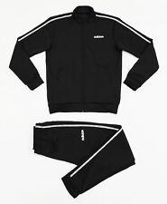 NWT ADIDAS Men's Celebrate 90s Black Warm-Up Track Suit Set Jacket Pants Joggers