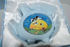 Rare Mary Engelbreit My First Piggy Bank Cow Jumped Over The Moon In Gift Box