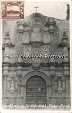 PERU PUNO FACHADA DE LA CATEDRAL REAL PHOTO